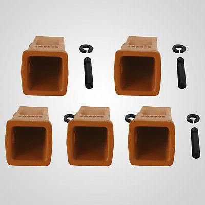 Bucket Teeth 5 Pack and Retainer Digging Long