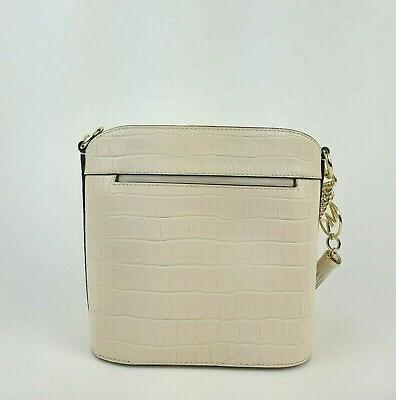 Michael Bag Medium Embossed Bucket Handbag