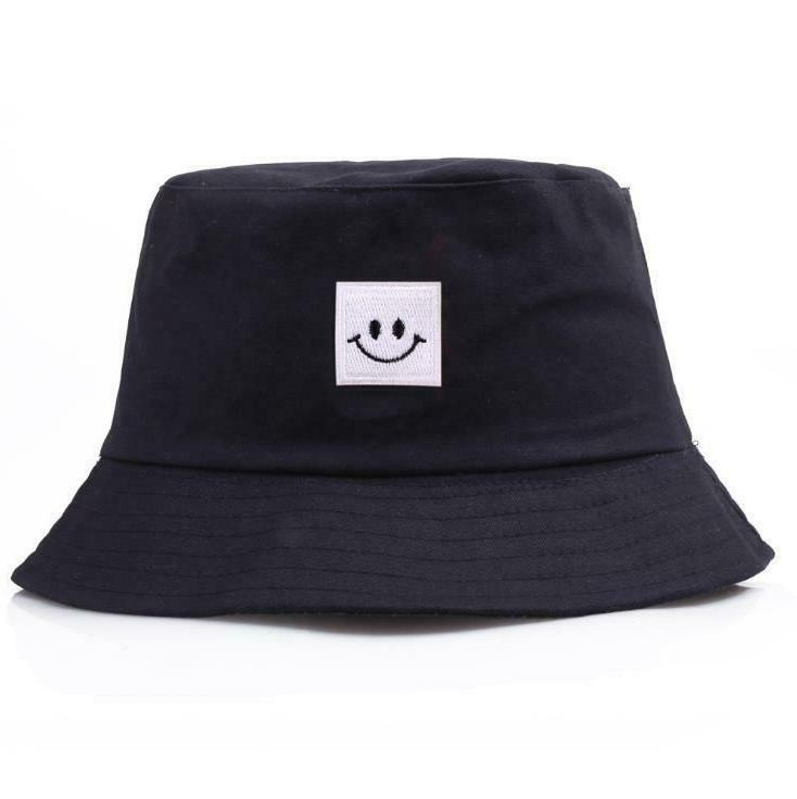 Smile Bucket Cotton Boonie visor Safari Summer Camping