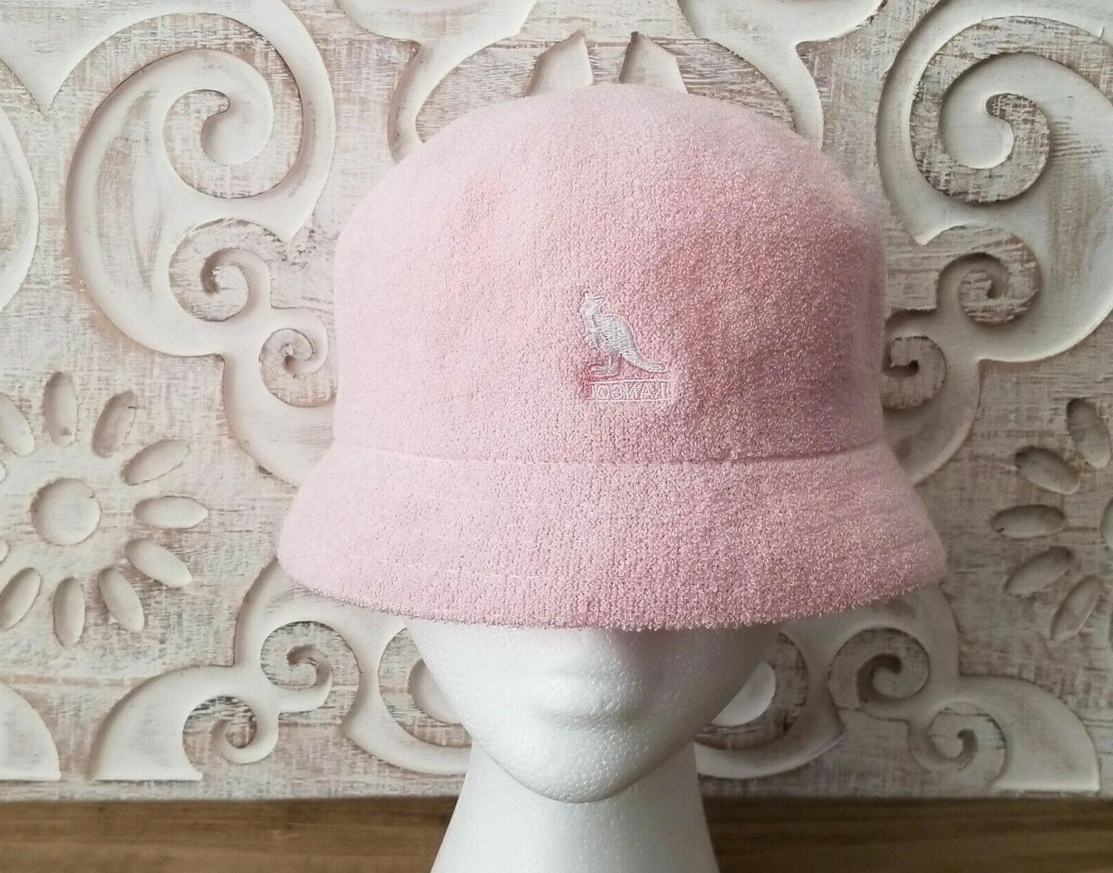wow bermuda cloche bucket hat pink 3483bc03