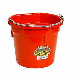 Little Giant Farm and Ag Flat Bucket - Color: Red