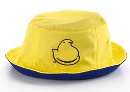 PEEPS Marshmallow Chick Bucket Hat NWT Easter Reversible Men