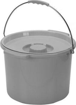 NEW!!! Drive Medical 12 Quart Commode Bucket with Handle and