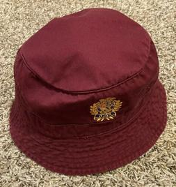 new men s cotton bucket hat burgundy