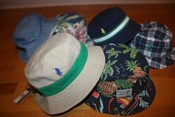 New with Tags Polo Ralph Lauren Reversible Bucket Hat Golf F