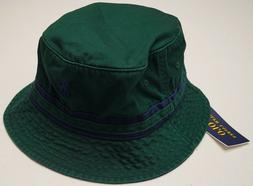 NWT  Polo Ralph Lauren Mens Bucket Hat Fishing Hat Cap Navy