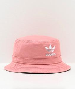 Adidas Originals Cotton Washed Pink Summer Fisherman Bucket