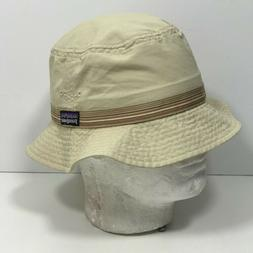 Patagonia Packable Soft Bucket Hat Cap Adult Size Small Tan