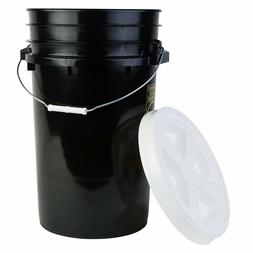 Hudson Exchange Premium 7 Gallon Bucket with Gamma Seal Lid,