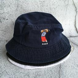 Polo RL Embroidery Teddy Golf Bear Cap Athlet Men's Bucket H