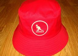 Rojo  KANGOL  Cotton Bucket Hat  Style  K2117SP