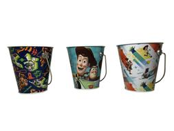 Set Of 3 Small Buckets For Kids Party Favors Or Center Piece