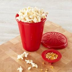 silicone microwave popcorn maker popcorn bucket container