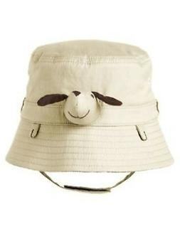 GYMBOREE STYLISH PUPPY KHAKI PUPPY BUCKET HAT 0 3 6 12 18 24