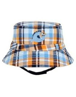 GYMBOREE SWIM SCHOOL PLAID FISH BUCKET HAT 0 3 6 12 18 24 NW