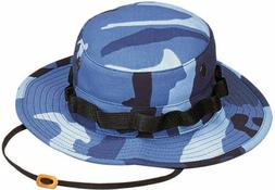 Tactical Boonie Hat Military Camo Bucket Wide Brim Sun Fishi