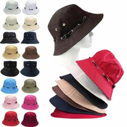 Unisex Bucket Boonies Hat Hiking Fishing Camping Travel Wide